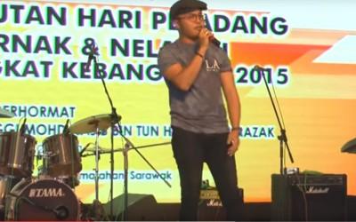 Hafiz 'All Of Me' @ HPPNK SHOW 2015, Kota Samarahan, Sarawak