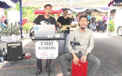Luaskan Kuasamu-Persembahan Gfadz buskers di tapak Road To MAHA jOHOR 2016