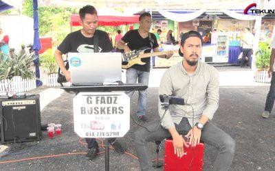 Sudah Ku Tahu-Persembahan Gfadz buskers di tapak Road To MAHA jOHOR 2016