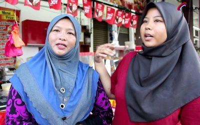'Kiosk makanan ringan & Jahitan' Usahawan TEKUN Nasional