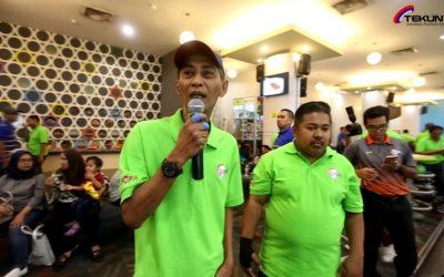 'Highlights' video Kejohanan Boling Tertutup warga kerja TEKUN