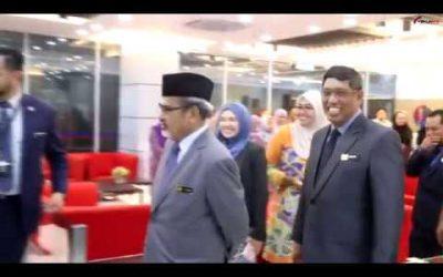 Kunjungan hormat Dato' Sri Haji Tajuddin Bin Abd Rahman,YBTM MOA ke TEKUN Nasional.