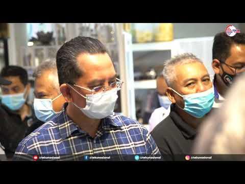 Lawatan KSU MEDAC ke Premis Usahawan TEKUN Nasional negeri Sabah