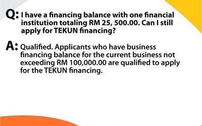 FAQ TEKUN Niaga Financing Scheme