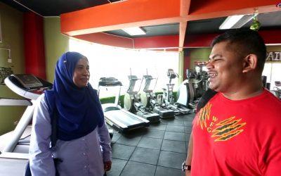 Usahawan TEKUN Parlimen Subang 'world fitness gym'