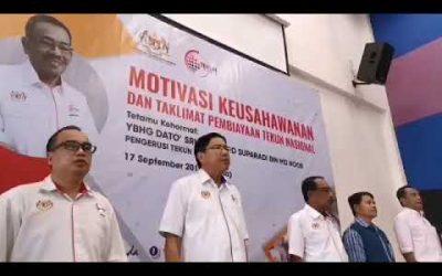 Seminar Motivasi & Taklimat Pembiayaan TEKUN di Penampang, Sabah.