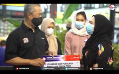 Walkabout Perdana Menteri di B5 Street Market, Johor Bahru
