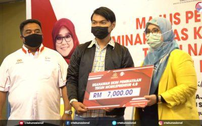 Majlis Perasmian Seminar Asas Keusahawanan (SAK) Negeri Melaka