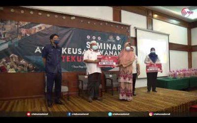 Majlis Perasmian Seminar Asas Keusahawanan (SAK) TEKUN Nasional Negeri Terengganu